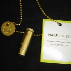 Recycled Bullet Casing Necklace